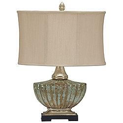 Civitella Teal Table Lamp