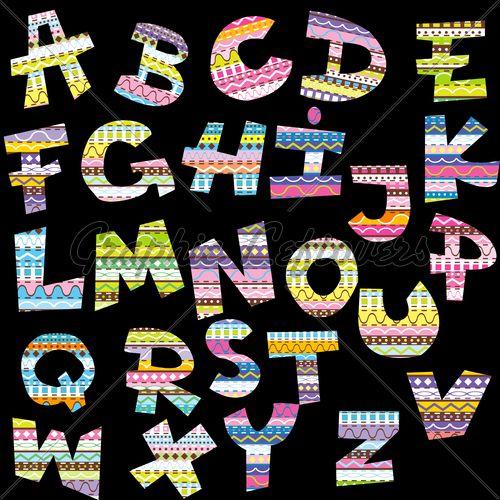 13 best images about decorative letters on pinterest for Shoulder decoration 9 letters