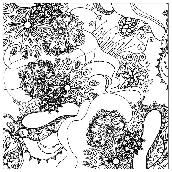 137 best Coloring pages images on Pinterest Mandalas Drawings