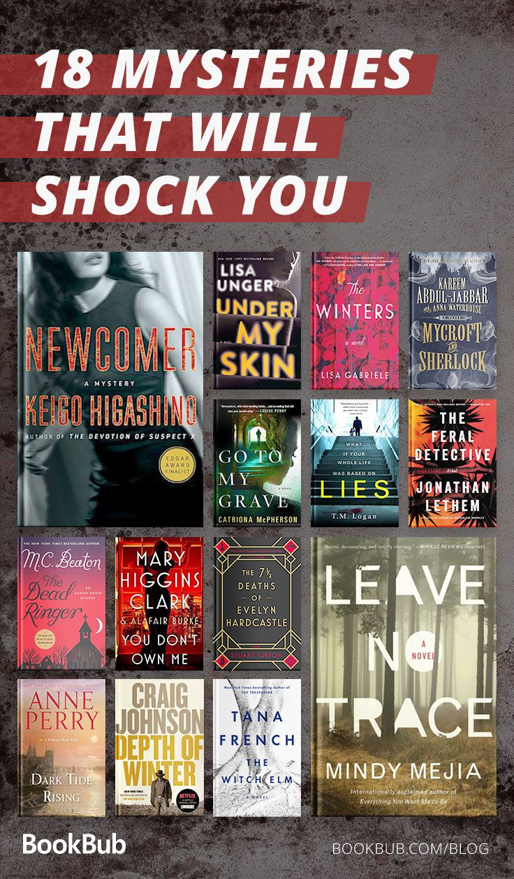 18 of the Biggest Mysteries to Read This Fall | New on the