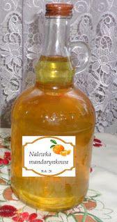 Czary mary gotuje Cezary: Nalewka na mandarynkach.