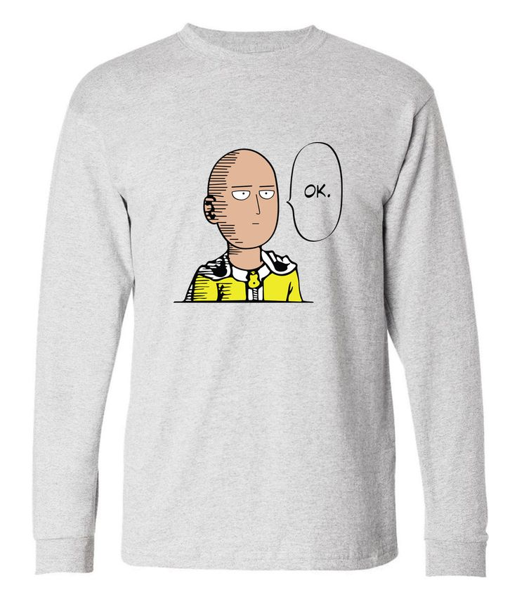 2017 One Punch harajuku t shirt Men Hero Saitama Oppai fitness long sleeve camisetas autumn punk hip-hop brand harajuku clothing #Affiliate