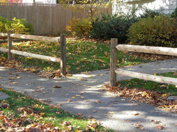 56 best good fences images on pinterest garden for Garden fence posts ideas