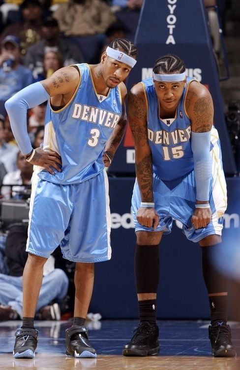 Allen Iverson & Carmelo Anthony. Melo ruined what could've been a dynamic duo.