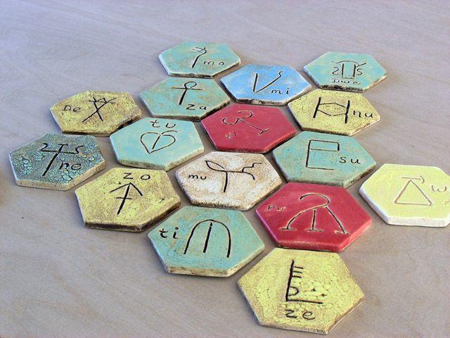 Trisha`s Minoan letters.