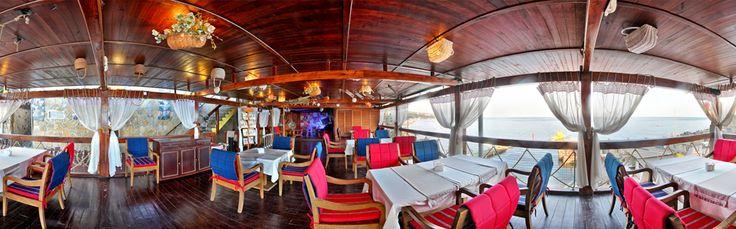 панорамная съемка  для ресторана в Ялте  http://hutorokyalta.ru/ photo restaurant Yalta Crimea Hutorok la Mer