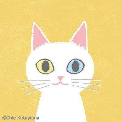 Bicke(ビッケ)別活動名による猫のイラスト。おしゃれなポートレートからコミックタッチまで幅広い作品のページです。