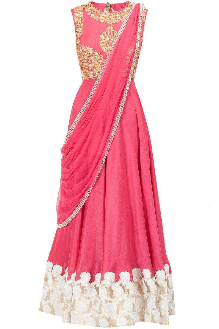 Pink dori and pearl embroidered kurta J BY JANNAT. Shop the designer now at www.perniaspopups... #perniaspopupshop #jbyjannat #anarkalis #ethnic #designer #stunning #fashion #amazing #fabulous #indian #musthave #happyshopping