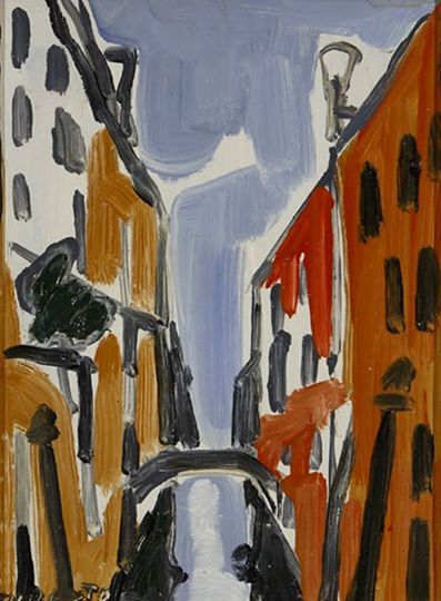 Giulio Turcato - Venezia, 1950.