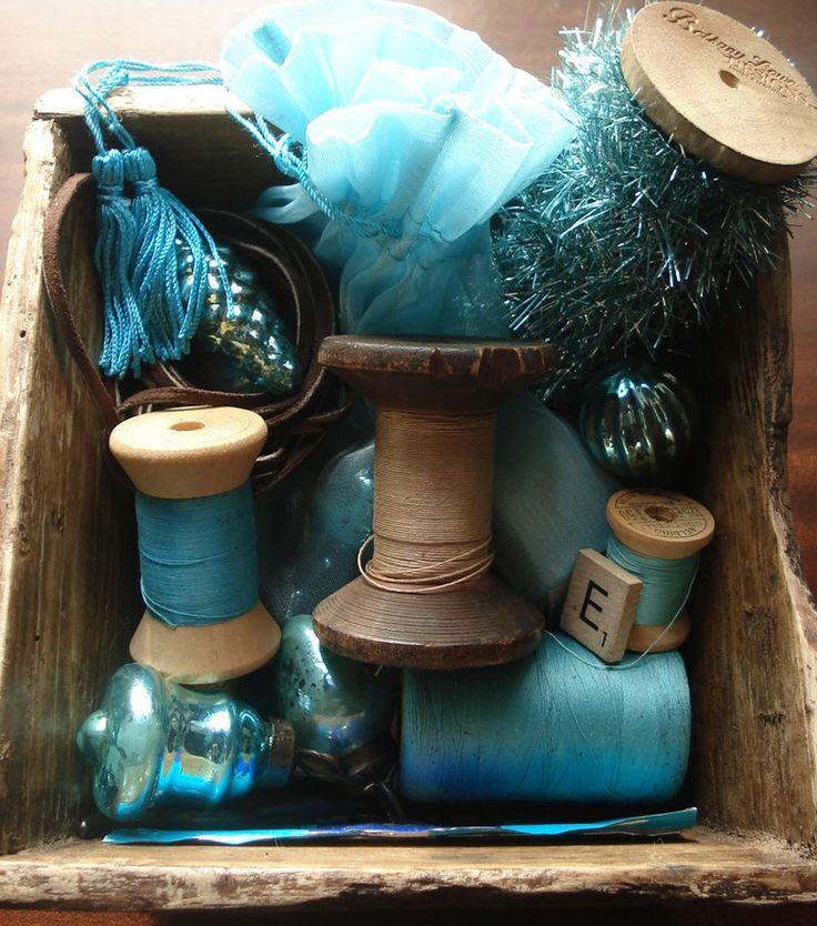 box of blues...