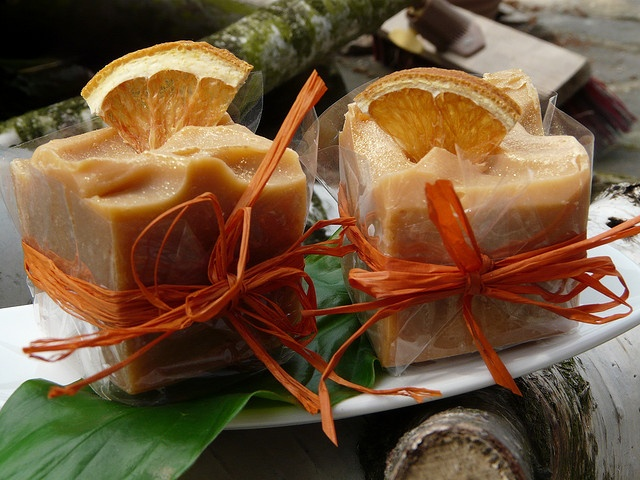 Orange~Sanddorn Seifenwürfel * Orange~Buckthorn Soap Cubes by soap cake, via Flickr