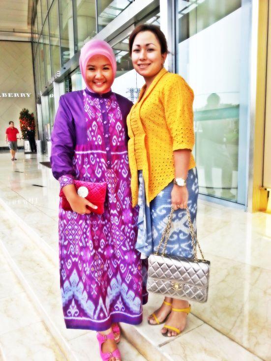 tenun dress from http://fahmirantiw25.wordpress.com