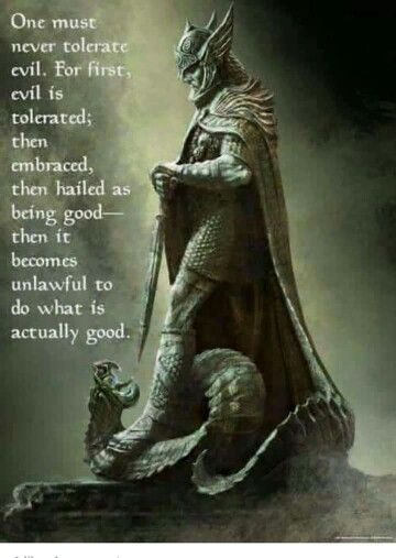 essay good vs evil