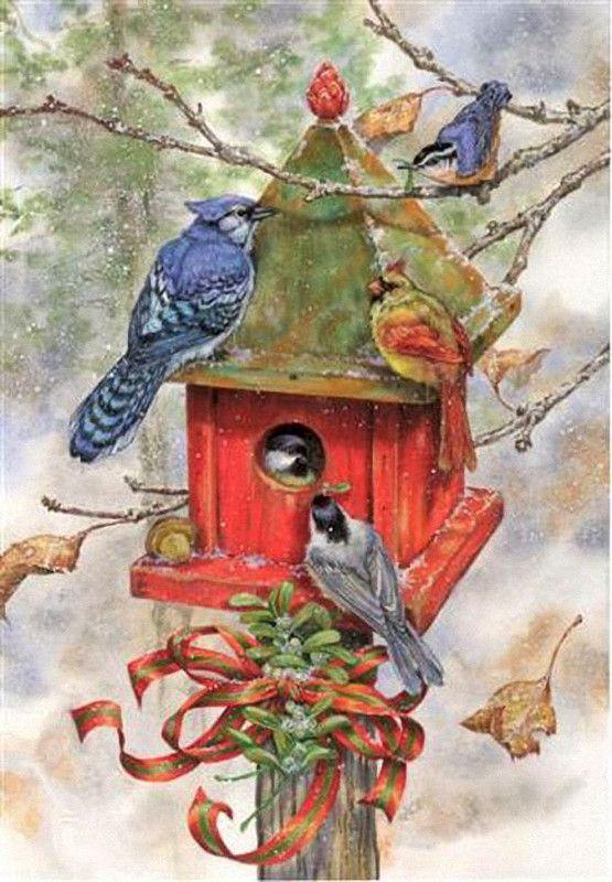 Donna Race, winter bird house