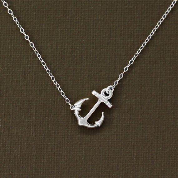 Anker Silberkette - Sterling Silber Kette
