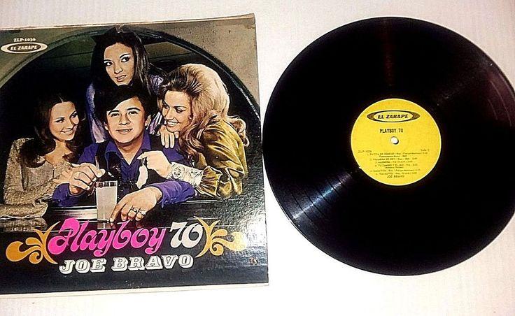 VINTAGE  ALBUM   PLAYBOY 70   JOE BRAVO   EL ZARAPE RECORDS