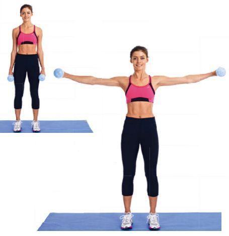 Elevación lateral de brazos