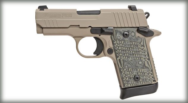 Sig Sauer P938 Scorpion, back- up piece for the 1911 operators out there!