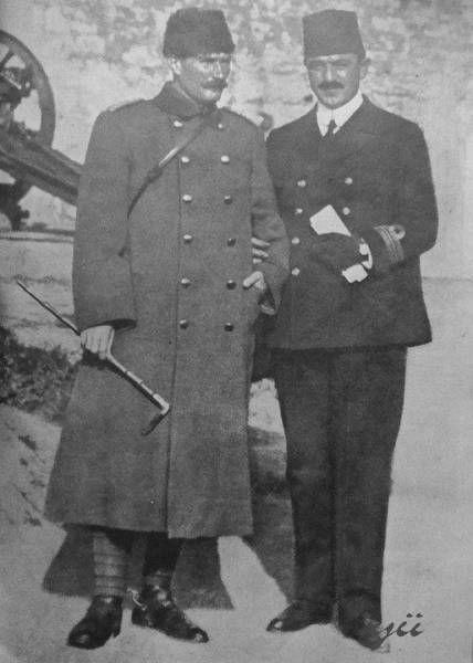 Rauf Orbay&Mustafa Kemal Atatürk -