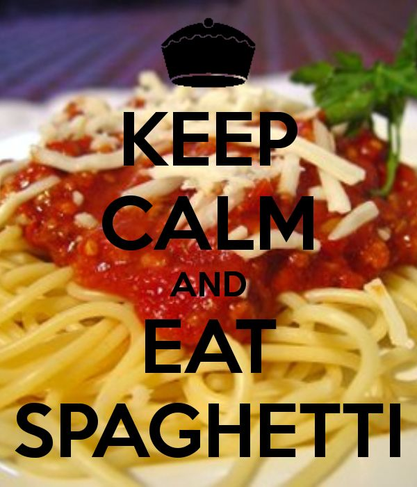   KEEP CALM AND EAT SPAGHETTI   Keep calm   Pinterest ...