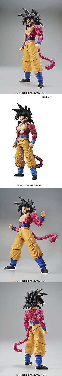 DragonBall Z 7117: Dragonball Z ~ Ss4 Goku Action Figure Model Kit ~ Bandai Figure-Rise Series -> BUY IT NOW ONLY: $44.99 on eBay!