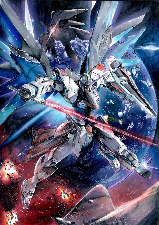 Freedom Gundam Gundam Gundam Art Gundam Wallpapers