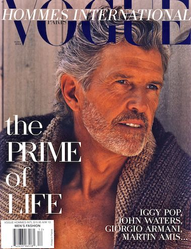Older male models - I am all about this niche market. They have been underrated for too long.  PattyOnSite