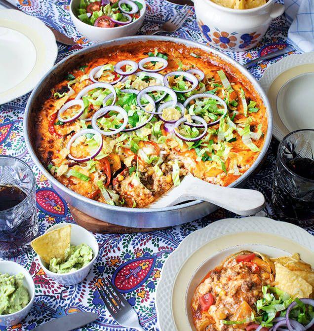 Mexikansk tacogratäng - Mitt kök
