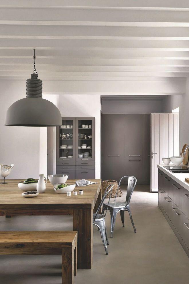 Une cuisine qui invite au bonheur des repas en famille Deco