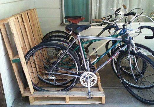 paled fiets rek
