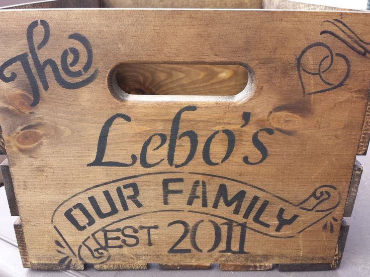 PERSONALIZED GIFT BASKET