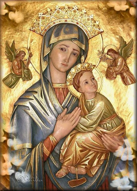 Imágenes religiosas de Galilea: Virgen María, Icono
