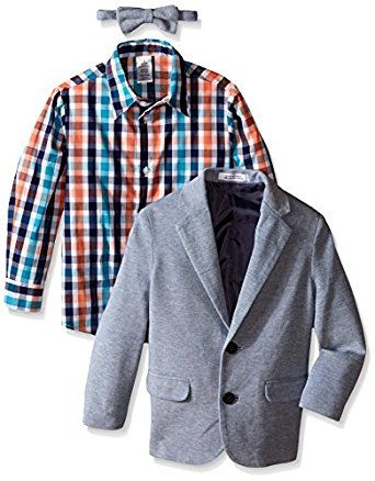 IZOD Kids Little Boys' Knit Pique Twill Duo S... by IZOD http://amzn.to/2g5xXig