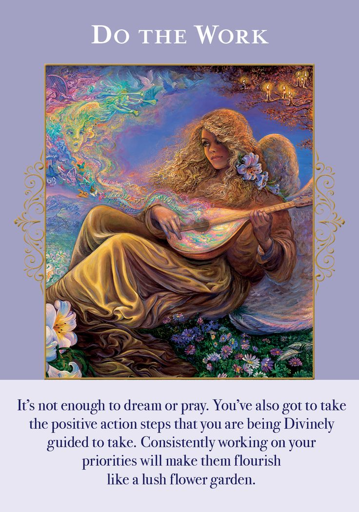 Oracle Card Do The Work | Doreen Virtue - Official Angel Therapy Website