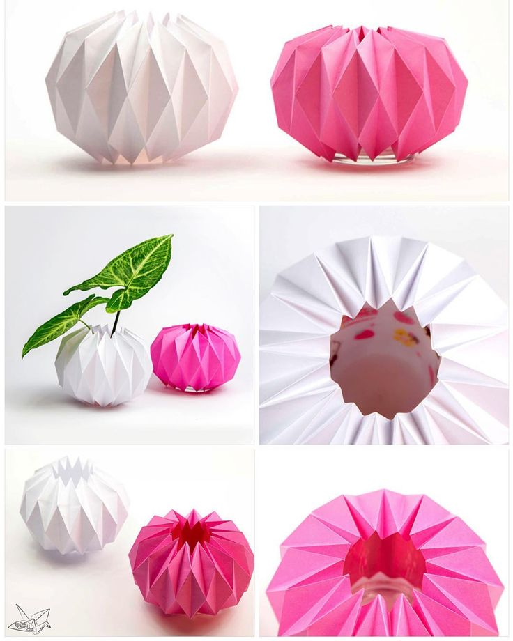52 best origami decorative objects images on pinterest