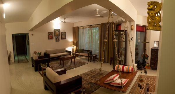 Apartment Interiors by Kiba Design, via Behance