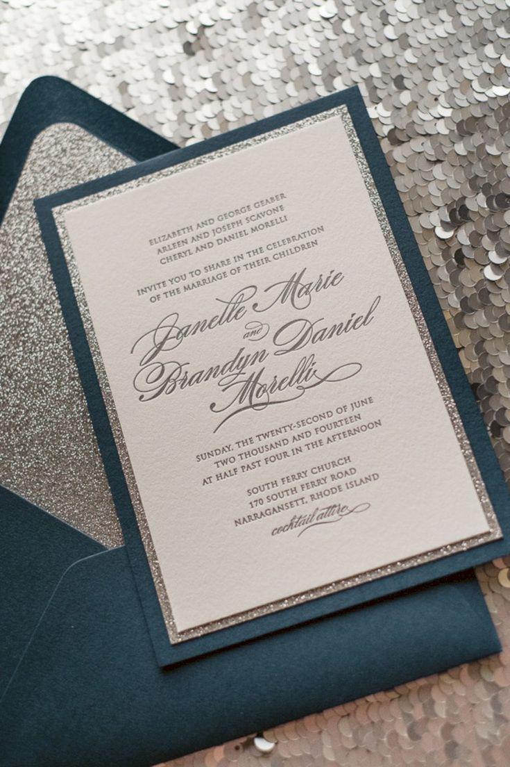 wedding invitations online au%0A    Creative DIY Winter Wedding Invitations Ideas