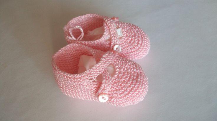 Bailarina cruzada color rosa