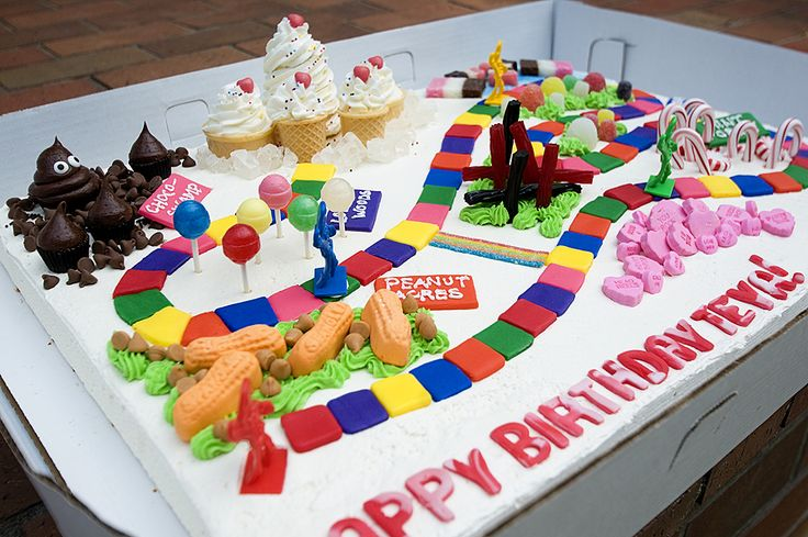 Another Candy Land cake!! That's it, I'm having this for my birthday!