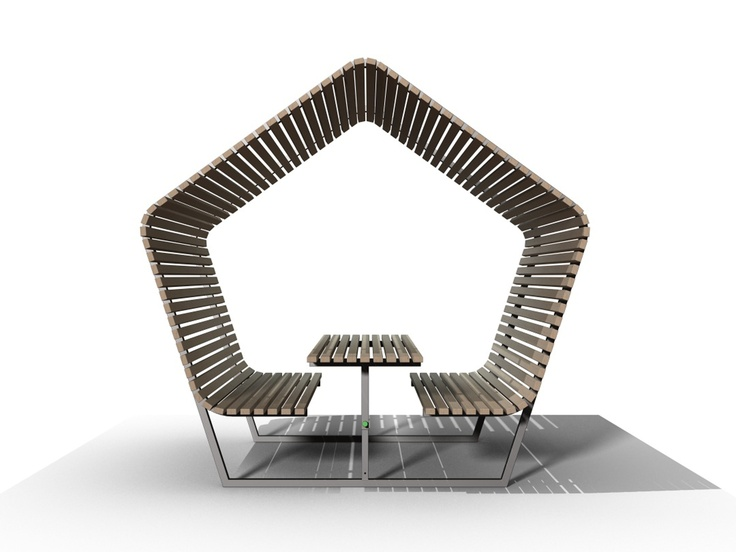 Urban Shelter by @Kebony Smith ASA  #furniture