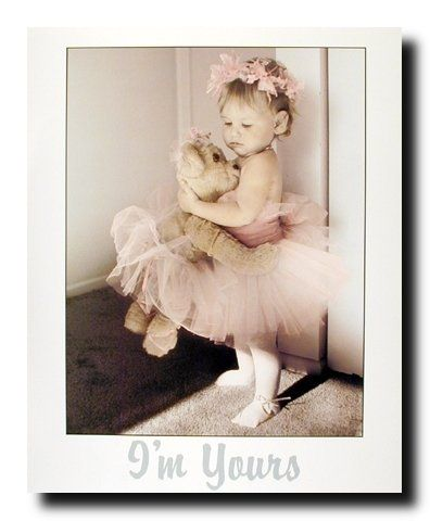 Cutest wall decor! Liven up your kid's room with this cute ballerina girl pink tutu wall art. This ballet poster looks very adorable and sure to put a smile on your face. This dance poster would be a perfect addition for your little princess bedroom. Hurry up! Grab this wonderful wall poster for its durable quality with a high degree of color accuracy. Make your order today!