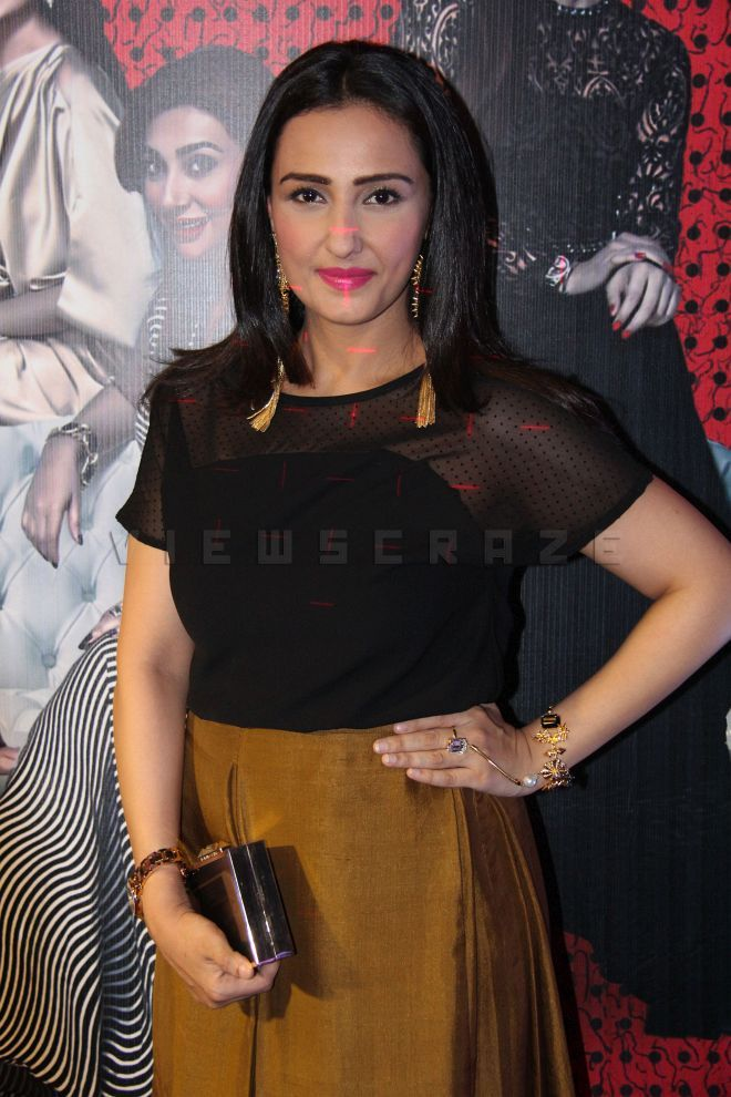 Momal Sheikh at the premiere of film Jawani Phir Nahi Ani