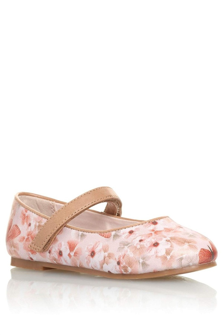 Girls Shoes Online - 3 months to 6 years - Next Butterfly Print Pumps - EziBuy Australia