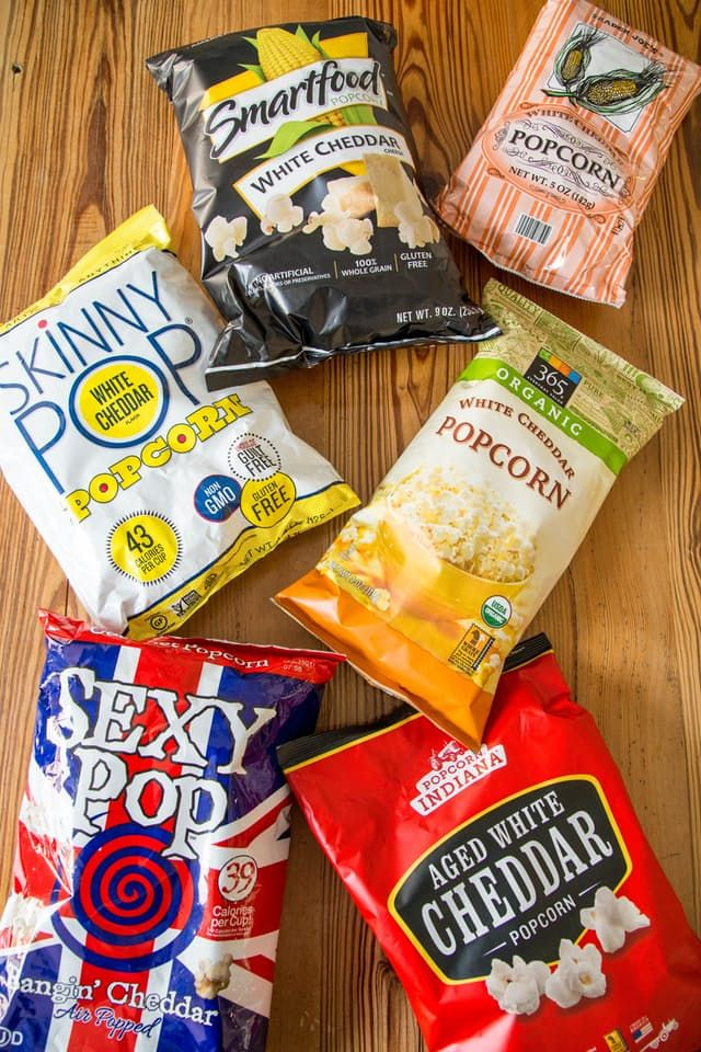 The White Cheddar Popcorn Taste Test: We Tried 6 Brands and Here's Our Favorite — Grocery Taste Test | The Kitchn