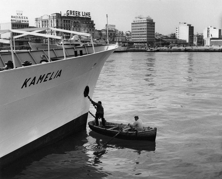 Lala Aufsberg Πειραιάς 1963.για Αίγινα,Μέθανα,Πόρο,Υδρα