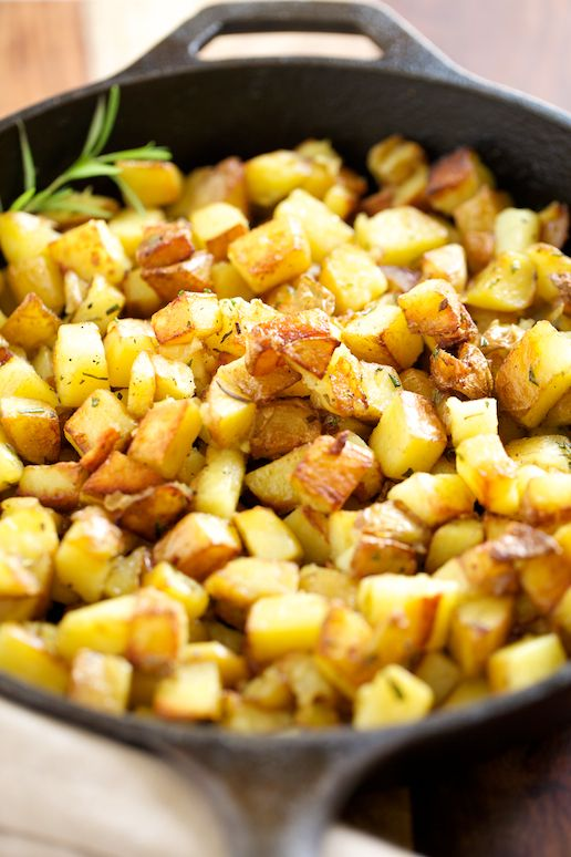 The Best Rosemary Potatoes | GI 365