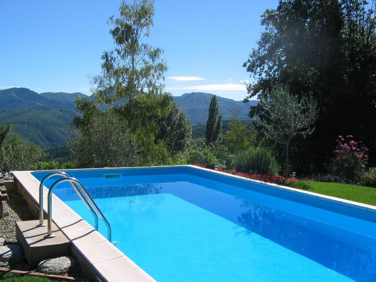 - Heated pool & view