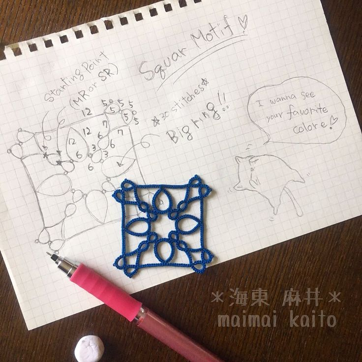 いいね!227件、コメント18件 ― maimai kaitoさん(@tatting_maimai)のInstagramアカウント: 「〈A〉 a ring by 30 stitches 〈B〉 a ring in 30 stitches 〈C〉 a 30 stitches ring . teach me please by?…」