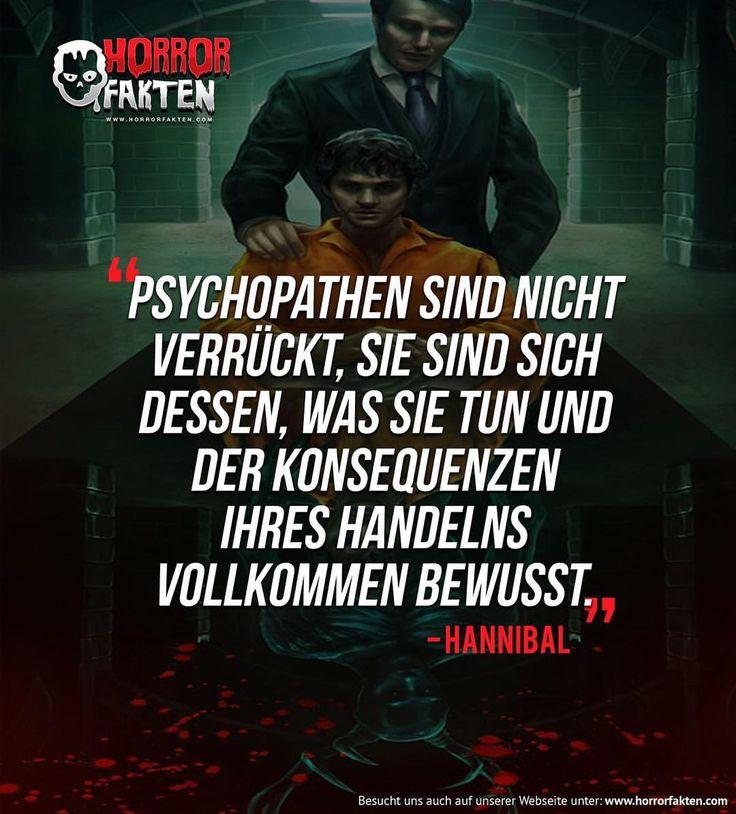 Zitat aus der Serie Hannibal #horrorfakten