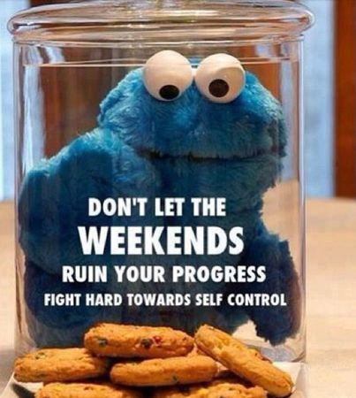 Stay motivated & don't lose that self-control!